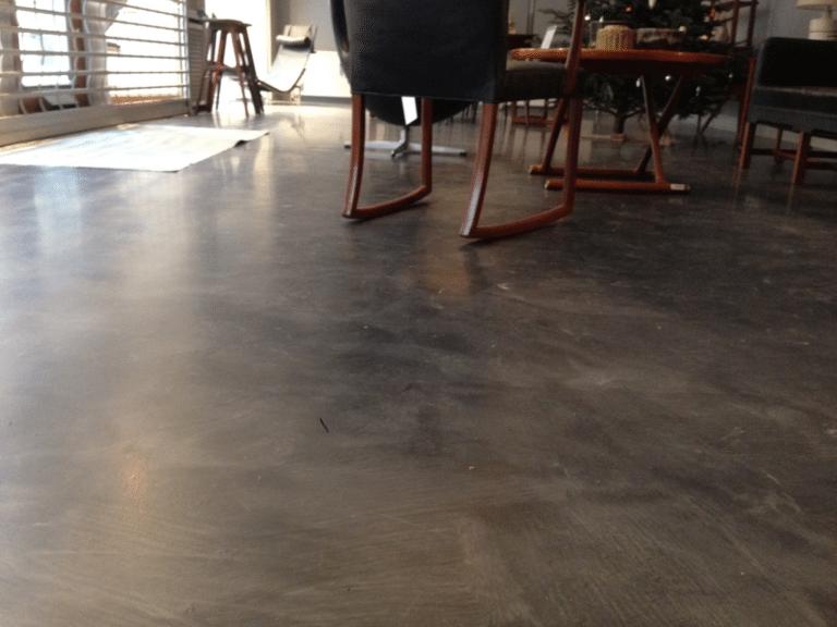 metallic epoxy gulv