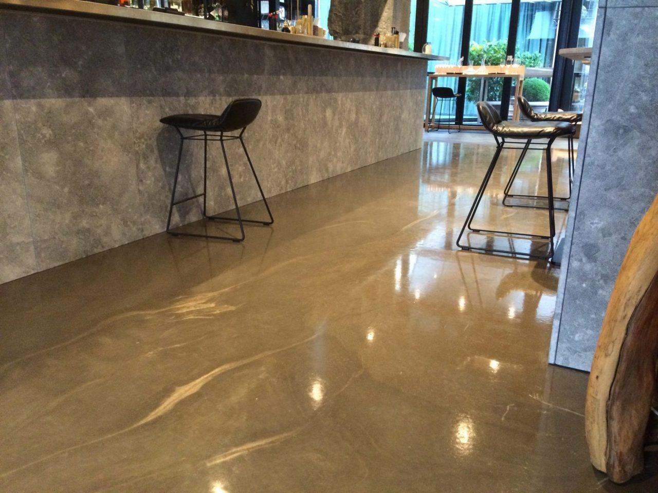 Design gulve, restaurant