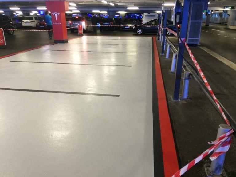 Parkering specifik til elektroniske biler